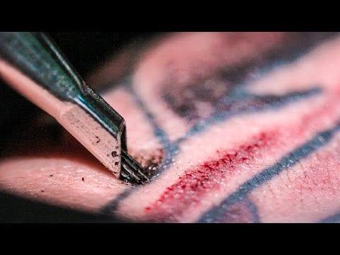 Tattooing Art Close