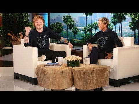Ed Sheeran New Tattoo