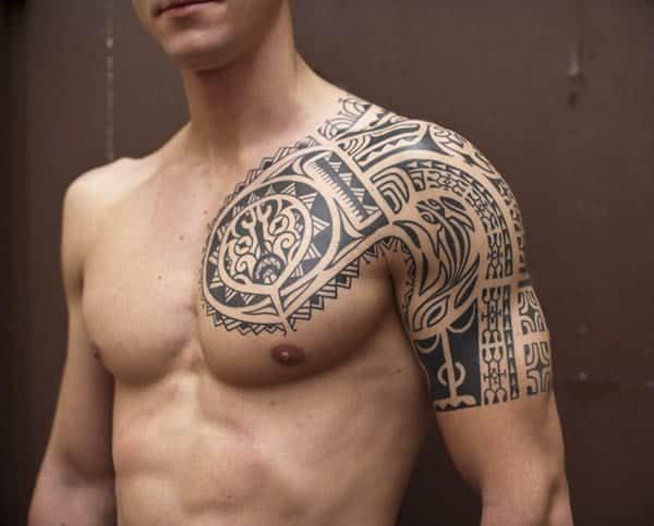 Guys Tribal Tattoo