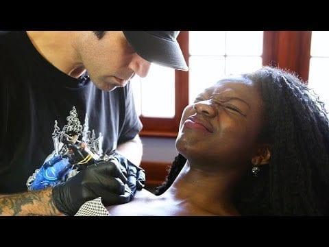 Tattoo Scared