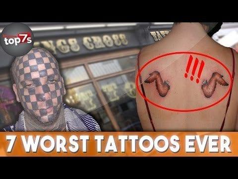 7 Worst Tattoos