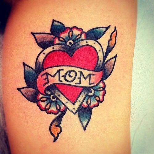 I love mom tattoo