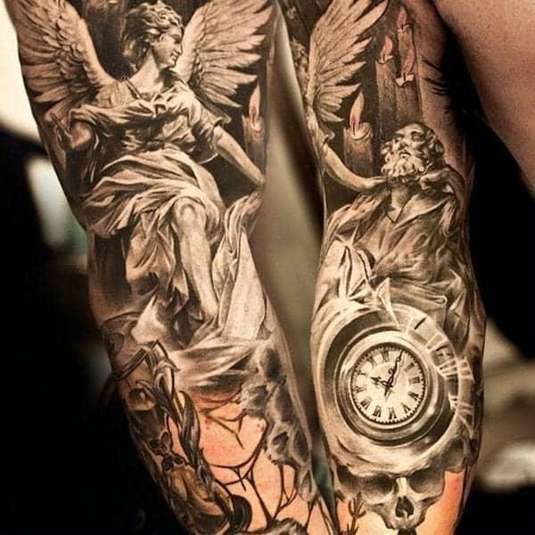 Angel Tattoo Design