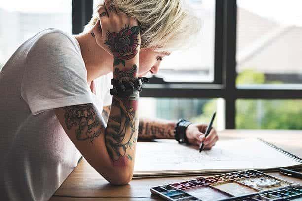 popular womens tattoo design
