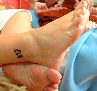 Women Ankle Tattoo Designs