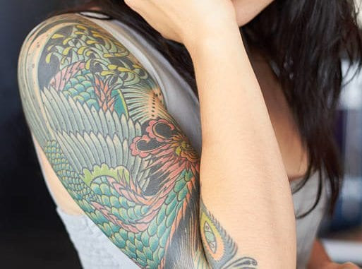 Hot Half Sleeve Tattoos Designs