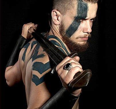 Ultimate Warrior Arm Tattoo