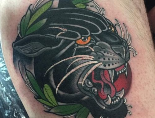 Black Panther Tattoo Images