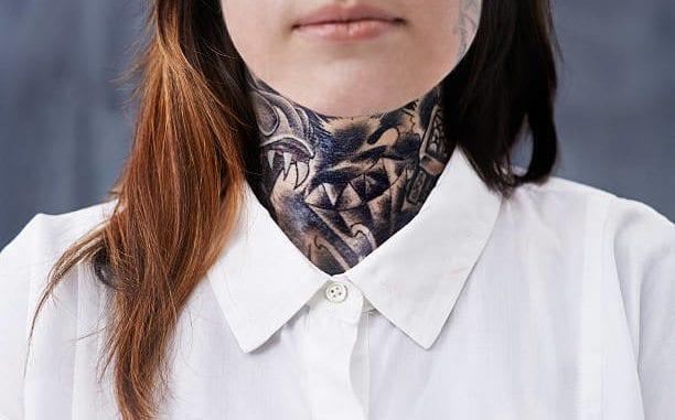 neck tattoo safety