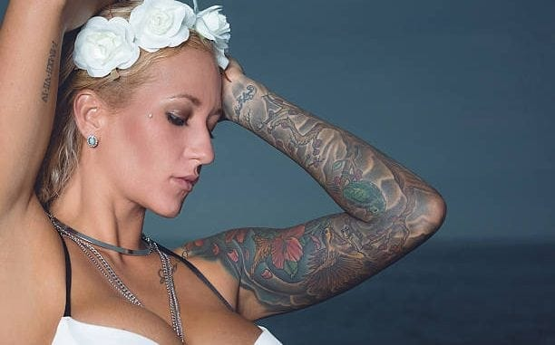 feminine sleeve tattoos