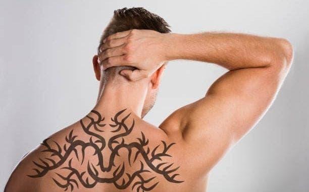 Tribal Back Tattoos
